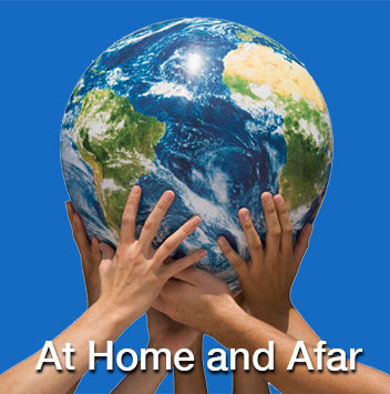 At Home and Afar